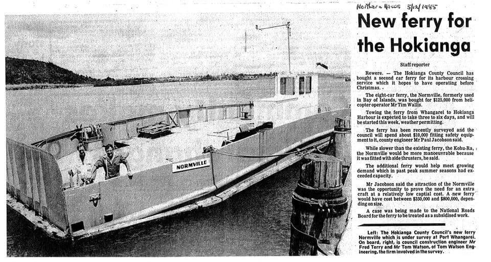 The Normville Car Ferry before being transformed into The Rock Adventure Cruise